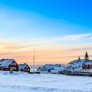 Reis naar Groenland